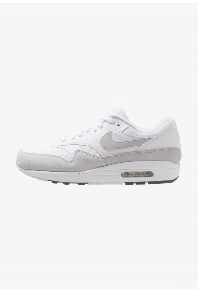Black Friday 2020 | Nike AIR MAX 1 - Baskets basses white/pure platinum/cool grey liquidation