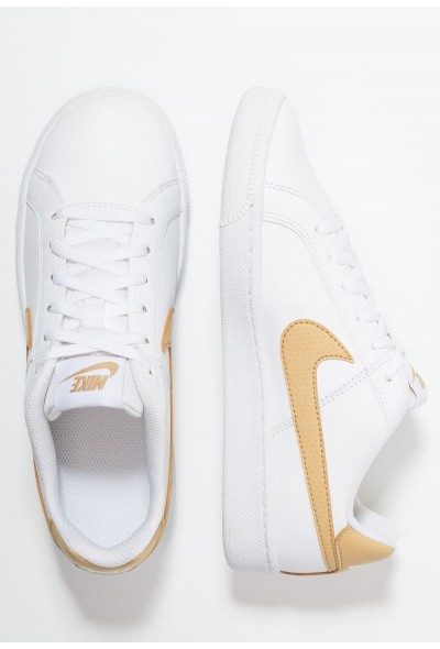 Black Friday 2020 | Nike COURT ROYALE  - Baskets basses white/club gold liquidation