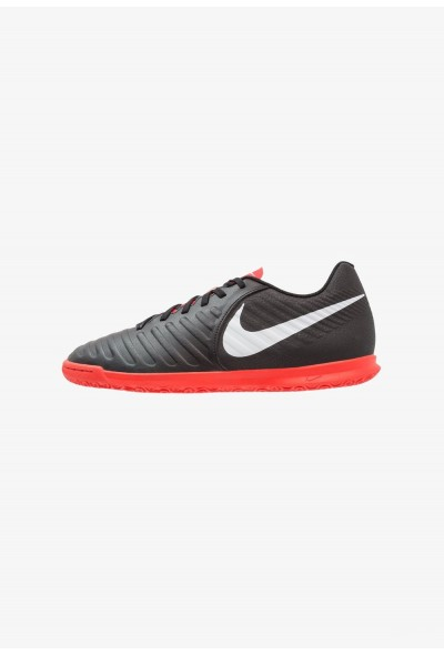 Black Friday 2020 | Nike TIEMPO LEGENDX 7 CLUB IC - Chaussures de foot en salle black/pure platinum/light crimson liquidation