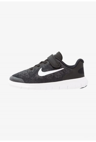 Nike FREE 2 - Chaussures de course neutres black/white/dark grey/anthracite liquidation