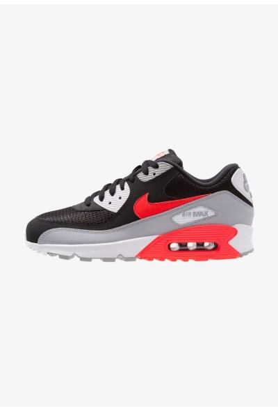 Nike AIR MAX 90 ESSENTIAL - Baskets basses wolf grey/bright crimson/black/white liquidation