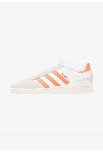 Adidas BUSENITZ - Baskets basses footwear white/trace orange/core white pas cher