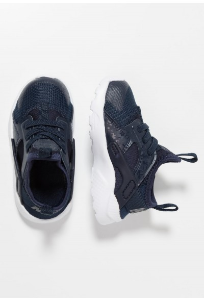 Black Friday 2020 | Nike HUARACHE RUN ULTRA  - Chaussures premiers pas obsidian/white liquidation
