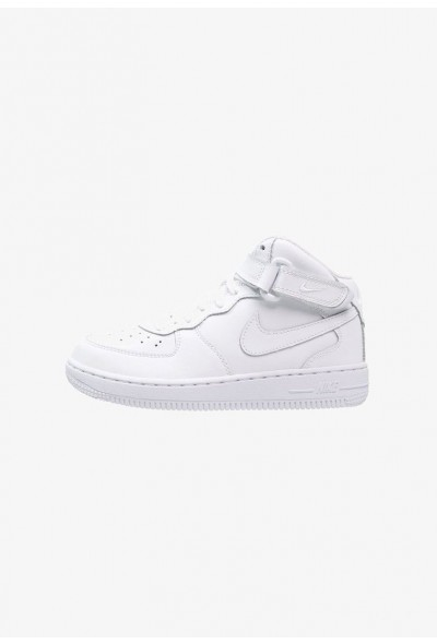 Nike AIR FORCE 1 MID - Baskets montantes white  liquidation