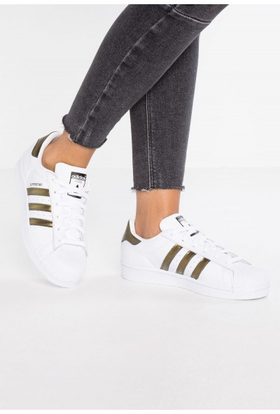 Adidas SUPERSTAR - Baskets basses footwear white/core black pas cher
