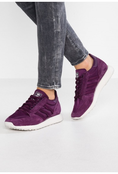 Adidas FOREST GROVE - Baskets basses red night/cloud white/grey one pas cher