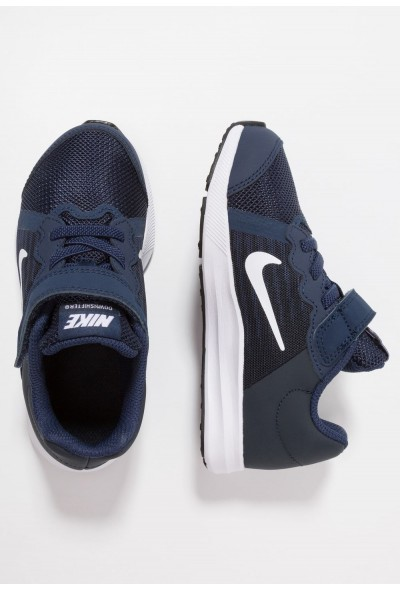 Nike DOWNSHIFTER 8 - Chaussures de running neutres midnight navy/white/dark obsidian/black liquidation