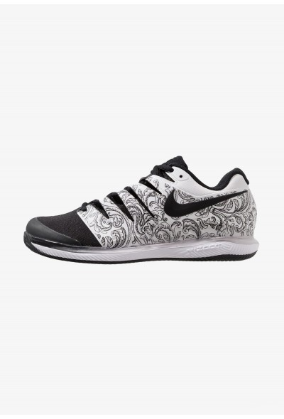 Nike AIR ZOOM VAPOR X CLAY - Chaussures de tennis sur terre battue white/black liquidation