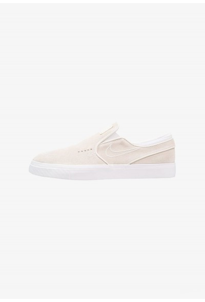 Nike ZOOM STEFAN JANOSKI - Mocassins white/light bone liquidation