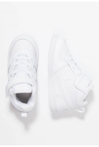 Nike COURT BOROUGH MID (TDV) - Baskets montantes white liquidation