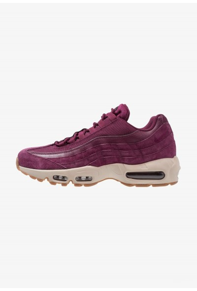 Nike AIR MAX 95 SE - Baskets basses bordeaux/desert sand/black liquidation