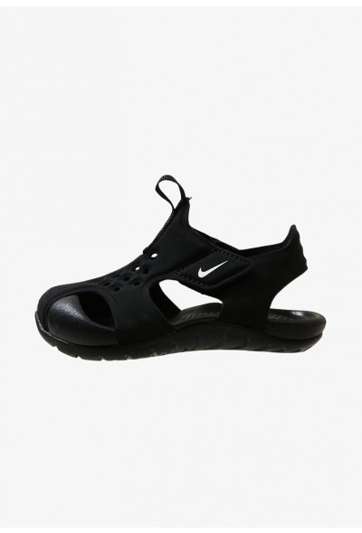 Black Friday 2020 | Nike SUNRAY PROTECT 2 - Sandales de bain black/white liquidation