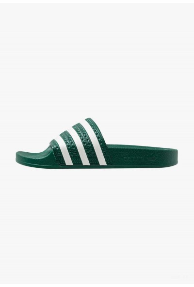 Black Friday 2019 | Adidas ADILETTE - Sandales de bain clear green/offwhite pas cher
