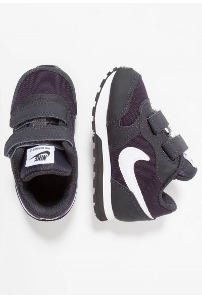 Black Friday 2020 | Nike MD RUNNER 2  - Chaussures premiers pas oil grey/white/black liquidation