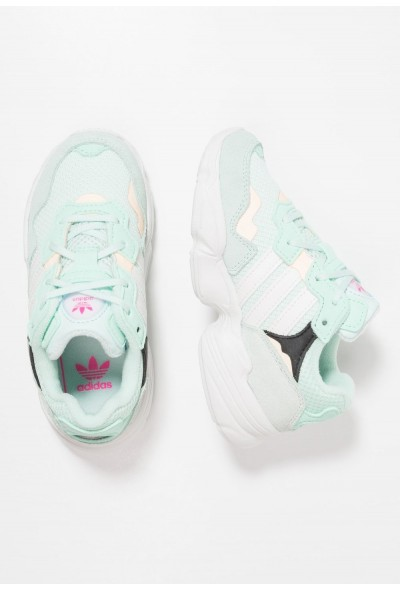Adidas YUNG-96 - Baskets basses ice mint/clowd white/clear orange pas cher