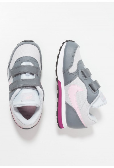 Nike MD RUNNER 2  - Chaussures premiers pas pure platinum/pink foam/cool grey/true berry liquidation