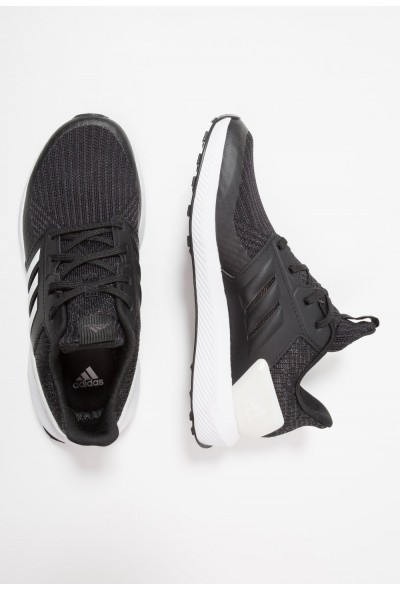 Adidas RAPIDARUN - Chaussures de running neutres core black/cloud white/carbon pas cher