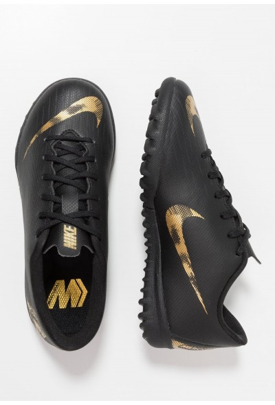 Nike MERCURIAL VAPORX  - Chaussures de foot multicrampons black/metallic vivid gold liquidation