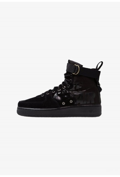 Nike SF AF1 MID - Baskets montantes black/cool grey liquidation