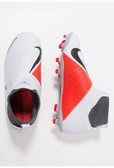 Nike Chaussures de foot à crampons wolf grey/metallic dark grey/dark grey/light crimson/pure platinum liquidation