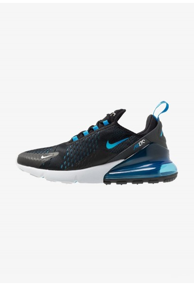 Nike AIR MAX 270 - Baskets basses black/photo blue/blue fury/pure platinum/anthracite/white liquidation