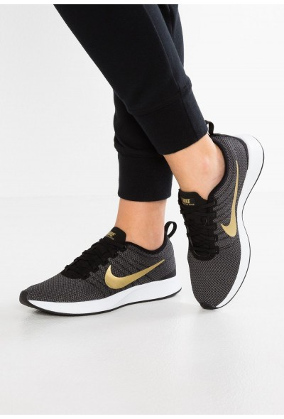 Black Friday 2020 | Nike DUALTONE RACER SE - Baskets basses black/metallic gold/dark grey/white liquidation