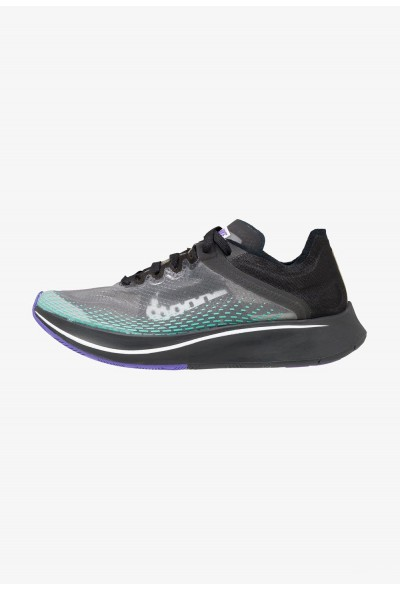 Nike ARTIST ZOOM FLY SP FAST - Chaussures de running neutres black/white/hyper jade/hyper grape/amarillo liquidation