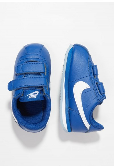 Nike CORTEZ BASIC SL (TDV) - Baskets basses indigo force/white/obsidian mist liquidation