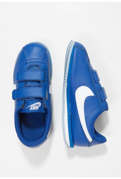 Nike CORTEZ BASIC - Baskets basses indigo force/white/obsidian mist liquidation