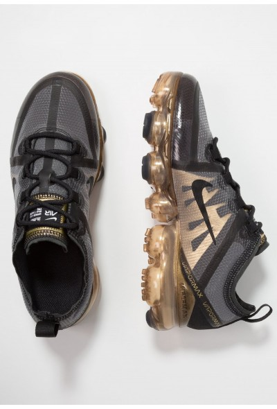 Nike AIR VAPORMAX 2019 - Chaussures de running neutres black/metallic gold liquidation