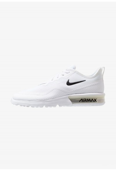 Black Friday 2020 | Nike AIR MAX SEQUENT 4.5 - Chaussures de running neutres white/black liquidation