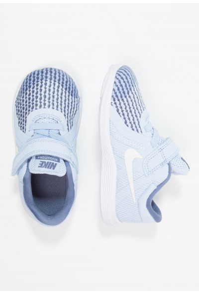 Nike REVOLUTION 4 - Chaussures de running neutres royal tint/metallic summit white liquidation