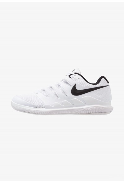 Nike AIR ZOOM VAPOR X CPT - Chaussures de tennis en salle white/black/vast grey liquidation