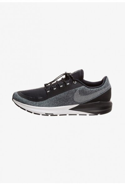 Black Friday 2020 | Nike AIR ZOOM STRUCTURE 22 SHIELD - Chaussures de running stables black/grey liquidation