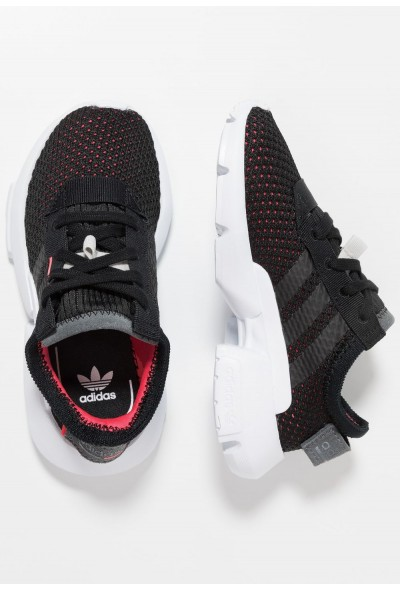 Adidas POD-S3.1 - Baskets basses core black/shock red pas cher