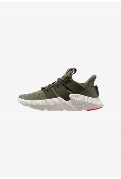 Adidas PROPHERE - Baskets basses basic green/night carbon/solar red pas cher