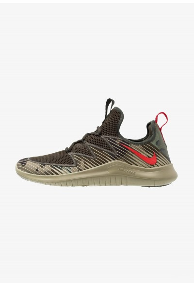 Nike FREE TR ULTRA - Chaussures d'entraînement et de fitness neutral olive/university red/sequoia/black liquidation