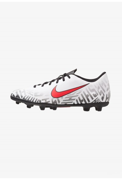 Nike MERCURIAL VAPOR 12 CLUB NJR MG - Chaussures de foot à crampons white/challenge red/black liquidation