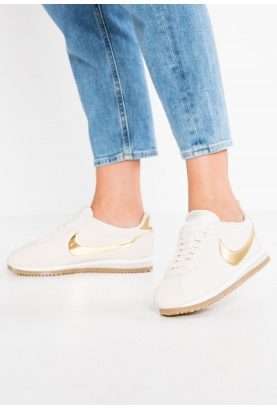 Nike CLASSIC CORTEZ SE - Baskets basses phantom/metallic gold/string/light brown liquidation