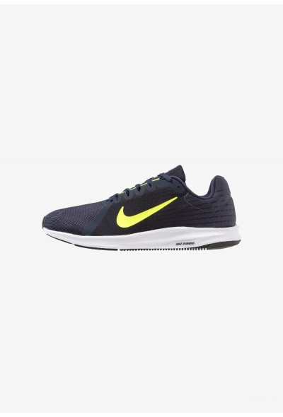 Nike DOWNSHIFTER 8 - Chaussures de running neutres light carbon/volt/obsidian/black/white liquidation