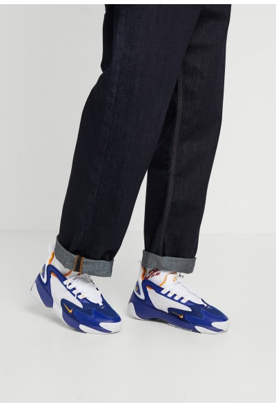 Black Friday 2020 | Nike ZOOM 2K - Baskets basses deep royal blue/orange peel/white liquidation