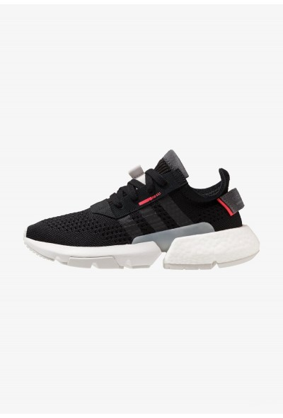 Adidas POD-S3.1 PK - Baskets basses clear black/shock red pas cher