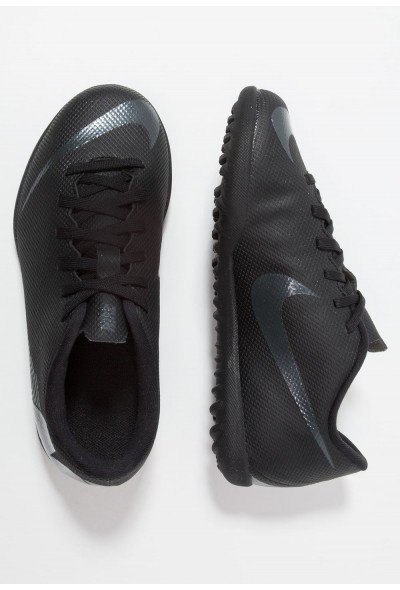 Nike MERCURIAL VAPORX 12 CLUB TF - Chaussures de foot multicrampons black/anthracite/light crimson liquidation