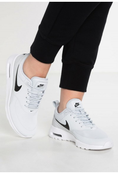 Black Friday 2020 | Nike AIR MAX THEA - Baskets basses pure platinum/black/white liquidation