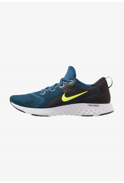 Nike LEGEND REACT - Chaussures de running neutres blue force/volt/black/white liquidation