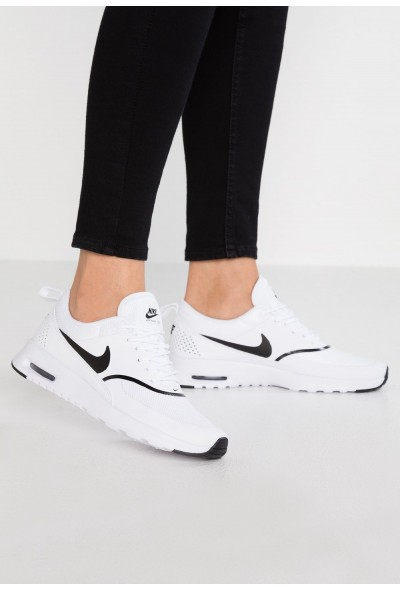 Nike AIR MAX THEA - Baskets basses white/black liquidation