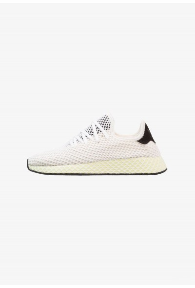 Adidas DEERUPT RUNNER - Baskets basses core white/core black pas cher