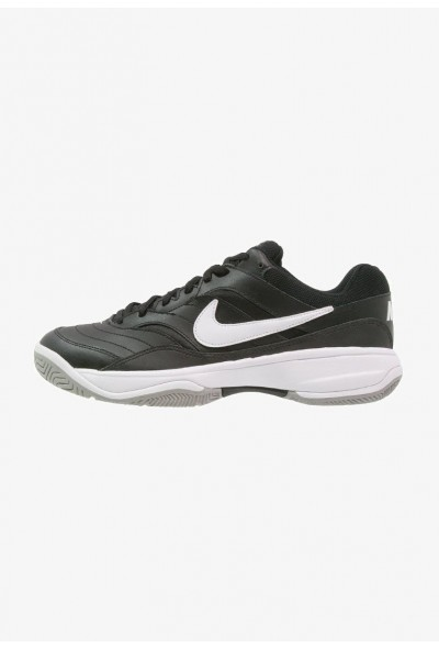 Cadeaux De Noël 2019 Nike COURT LITE - Baskets tout terrain black/white/medium grey liquidation
