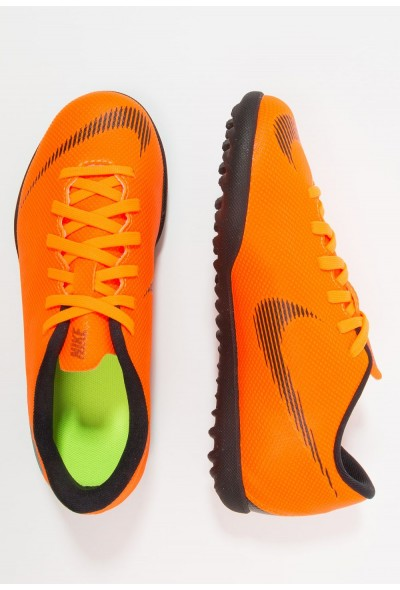 Nike MERCURIAL VAPORX 12 CLUB TF - Chaussures de foot multicrampons total orange/white/volt/black liquidation