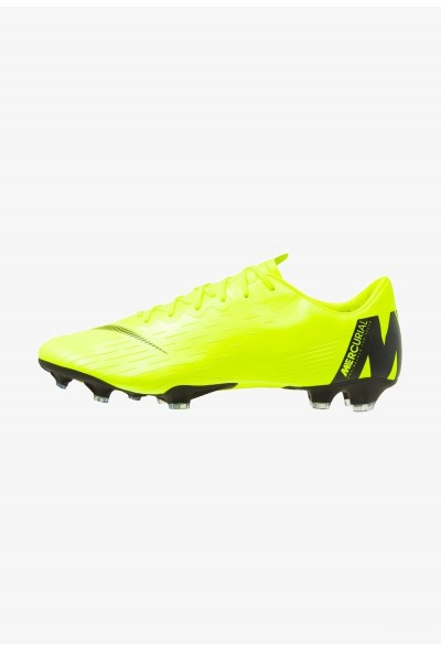 Black Friday 2020 | Nike MERCURIAL VAPOR 12 PRO FG - Chaussures de foot à crampons volt/black liquidation